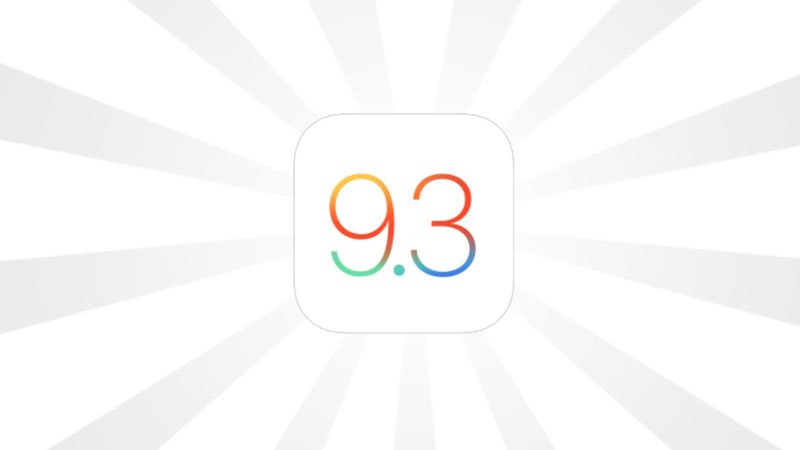 Apple - iOS 9.3